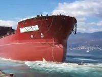 Wodowanie największych statków