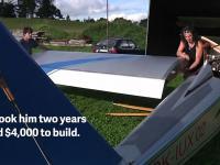 Czech zbudował samolot, aby skrócić sobie drogę do pracy