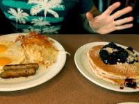 Typowe Amerykańskie Śniadanie oraz najlepszy shake