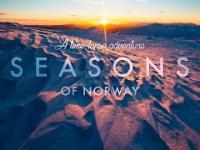 Cztery pory roku w Norwegii