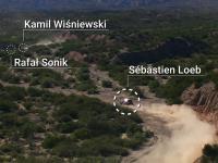 Dakar 2017 - ułamki sekund od czołowego zderzenia