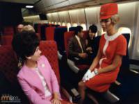 Podróże samolotem w latach 1955-1975