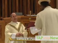 Atak na biskupa w Newark w stanie New Jersey
