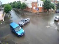 Rosyjskie miasto zrezygnowało ze świateł na skrzyżowaniu