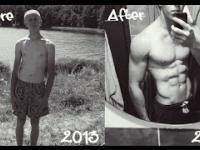 Niesamowita 3 letnia przemiana bez siłowni !
