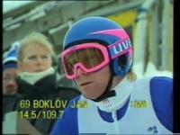 Matti Nykänen vs. Jan Boklöv - Lahti 1988