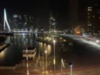 Timelapse Rotterdamu - noca i dniem