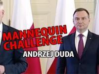Andrzej Duda i MANNEQUIN CHALLENGE. Już wiemy, czemu tak zastygł