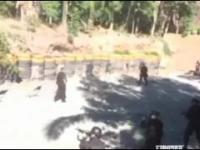 Trening odwagi brazylijskiej policji