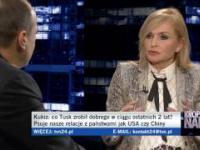 Paweł Kukiz mieli Olejnik , żeby nie przerywała i Tuska ws. kadencji do PE - 9.2.2017