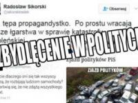 Kulturowa dzicz. Reakcja polityków PO na wypadek premier Szydło!