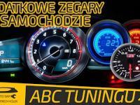 Dodatkowe zegary w samochodzie - ABC TUNINGU 24