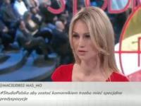 Emocje w studiu TVP podczas dyskusji o komornikach. Magdalena Ogórek zadaje niewygodne pytanie [WIDEO]