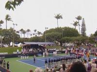 Skandal podczas prestiżowego turnieju tenisowego. Odśpiewano nazistowski hymn!