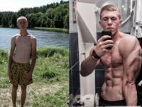 Niesamowita transformacja 16-20 lat Bez Siłowni !
