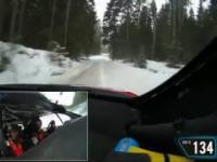 Ogromne szczęście polskiej ekipy podczas rajdu Rally Samara na Łotwie