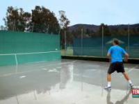 Smart Tennis Wall - Why the ball always comes back to a rocket?