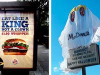 10 najlepszych działań Burger Kinga przeciwko McDonald's