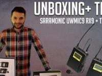 Unboxing Test mikroportów Saramonic UwMic9 RX9 + TX9