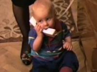 Bobas i jego rozmowa telefoniczna || Baby phone talk
