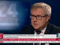 Ryszard Czarnecki (PIS) o polityce USA w programie