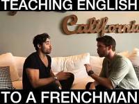 Uczenie francuza mówienia po angielsku