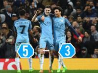 Manchester City vs Monaco 5-3 - Wszystkie bramki - 21/02/2017 HD 720p (Polski komentarz)