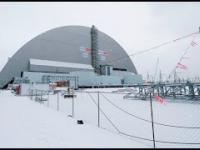Nasuwanie Sarkofagu Na Reaktor nr.4 Czarnobyl