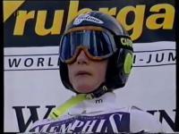 Pierwszy skok Adama Małysza w konkursie Pucharze Świata