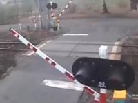 Wypadek na przejeździe kolejowym w Czerwionce