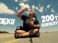 Przez Świat na Fazie - 200 tys. subskrybcji ! DZIĘKI !