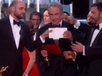 Oscar 2017 FAIL ~ Best Picture - Moonlight [Oscars 2017 production FAIL]