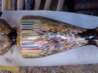 Wykonanie wazonu z kredek