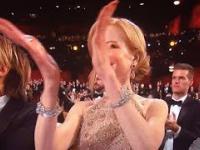 Nicole Kidman nie potrafi klaskać