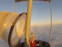 Wymiana żarówki na wysokości 600 metrów
