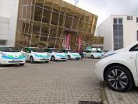 Electric Taxi wprowadza pierwsze w Polsce ekologiczne taksówki. 20 Nissanów Leaf. X-NEWS.PL