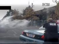 Policyjny pościg zakończony strzelaniną