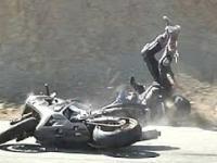 Wypadki motocyklistów - Szokująca Azja