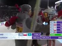 WSZYSTKIE Skoki Polaków 04.03.17 Konkursie drużynowym