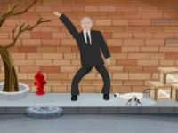 Jarosław - król disco tańczy dla kota