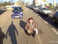 Ciężkie jest życie rowerzystów w Częstochowie