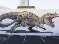 Anatomiczne murale zwierząt – Street Art