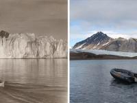 Szokujące zdjęcia skutków zmian klimatycznych w Arktyce