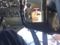 Lądowanie Boeinga 737 na wietrze
