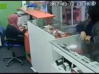 Sprytna kradzież telefonu