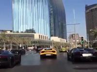 Taki tam korek w Dubaju