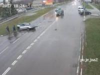 Spowodował wypadek
