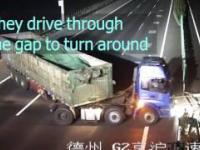 Zawracanie na autostradzie po chińsku