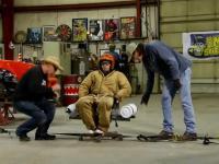 Wirówka przeciążeniowa dla pilotów zrobiona w garażu