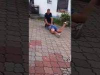Mocarz vs Policja